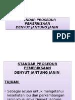 Standar Prosedur Pemeriksaan Djj