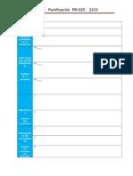 Planificación Sep-2015
