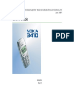 Nokia 3410 UG En2