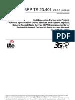 3gpp Ts 23.401 v8.6.0 (2009-06)