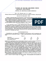 The Precipitation of Silver Chloride From Aqueous Solutions Part 2