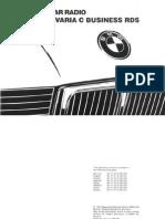 BMW Car Radio-Bavaria C Buisiness RDS