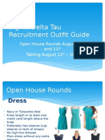 SDT Formal Recruitment Outfits 2013 (1)