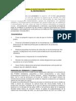 Plan Analitico Trabajo Investigacion Microfinanzas II Parte