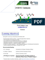 AFL Aston Catalysis Surface Chemistry Slides