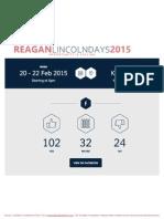 Reagan Lincoln Days 2015