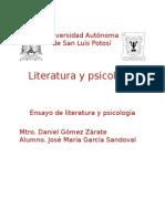 Ensayo de Psicología y Literatura