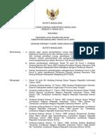 Peraturan Daerah Kabupaten Magelang
