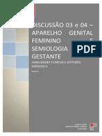 Habilidades Clinicas e Atitudes - Exame Ginecologico e Gestação