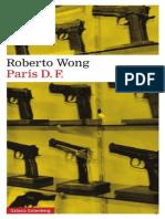 #Adelanto París D.F. de Roberto Wong