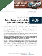 Press Carlos Sousa 10.01.17