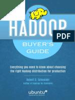 Hadoop Buyers Guide