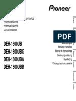 Deh-1500ub Manual Nl en Fr de It Ru Espdf (1)