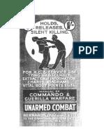 Manual of Commando and Guerrilla Warfare Unarmed Combat