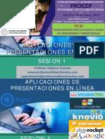 Sesion 1 Aplicaciones de Presentaciones en Línea