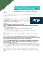 Estatuto Dos Funcionários Públicos Civis Do Poder Executivo Do RJ