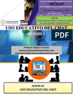 Sesion 3 Uso Educativo Del Chat