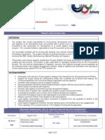 Manager Supplier Development Headoffice