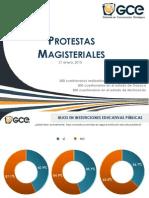 Protestas Magisteriales 2015