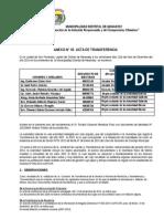 Modelo de Anexo 3 Acta de Transferencia Por Unidades Organicas y Sistemas Administrativos Borrador