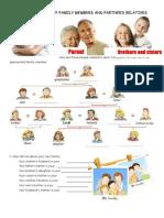 Family Members Possessive Case