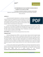 Applied Implementation of Performance Management Macheng Boipono
