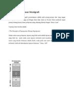 Prinsip-prinsip Dasar Stratigrafi