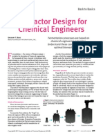 Bioreactor Design for Chemical Engineering