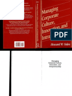 Oden Managing Corporate Culture Innovation and Intrapreneurship