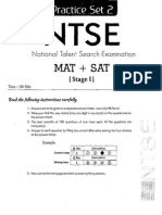 NTS Stage 2 Sample Paper