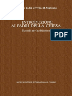 G. Bosio, E. Dal Covolo, M. Maritano-Introduzione Ai Padri Della Chiesa. Sussidi Per La Didattica. Vol. 6-SEI (1999)