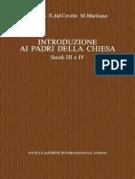 G. Bosio, E. Dal Covolo, M. Maritano-Introduzione Ai Padri Della Chiesa. Secoli III e IV. Vol. 3-SEI (1996) (1)