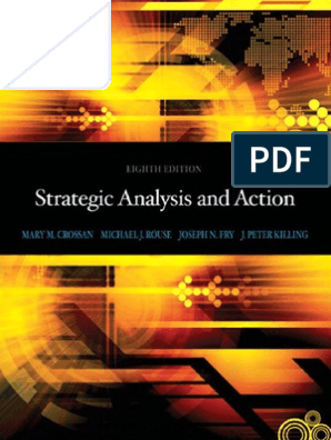 strategic analysis and action 9th edition pdf download free