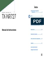 Manual TX-NR727 Es
