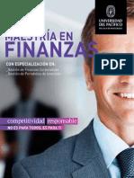 Brochure Maestría en Finanzas 2015