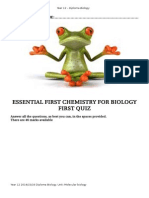 Essential chemistry Test Jan 2015