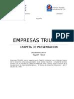 Presentacion Triumph Div. Industria Mayo 2014 Con Logos