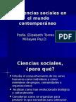 Las Ciencias Sociales en el Mundo Contemporáneo Cap 1