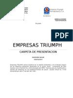 Presentacion Triumph Div Salud Marzo 2014
