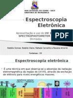 Apresentação - Espectrofotômetro
