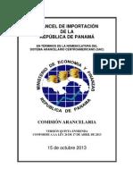 Arancel Nacional de Importación Panamá