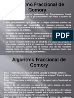 Programacion Entera-Metodo de Gomory