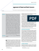 Contemporary Management of Head and Neck Cancers