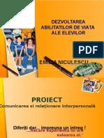 Proiect Dezvoltare Abilitati de Viata
