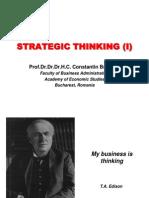 BS L01 Strategic Thinking (I)