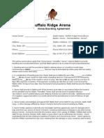 buffalo ridge arena boarding agreement  20150121