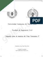 UANL - Apuntes Para La Materia Vias Terrestres I