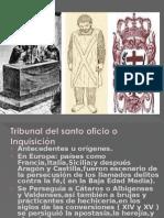 Tribunal Del Santo Oficio o Inquisición RUT
