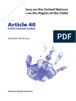 [Geraldine Van Bueren] Article 40 Child Criminal