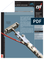 Horizontal in-place MEMS Inclinometer ICB0032H